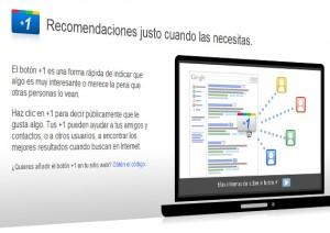 Botón +1 de Google