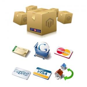 Medios de pago y medios de envío en Magento