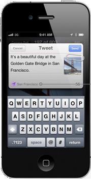 Twitter integrado de forma nativa en todas las aplicaciones Apple iOS 5