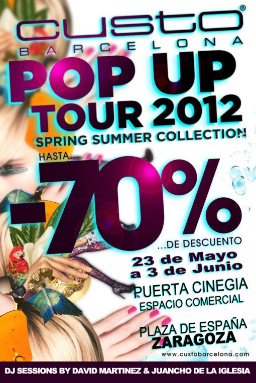 Custo Barcelona Pop Up Store Tour