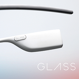 Altavoz y transductor oseo Google Glass